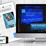 Leipziger Agenturgruppe realisiert Social Media Kampagne für SAS Forum Deutschland
