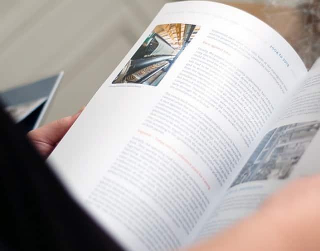 Agentur für Ingenieurswesen mit dreisprachiger Chronik beauftragt
