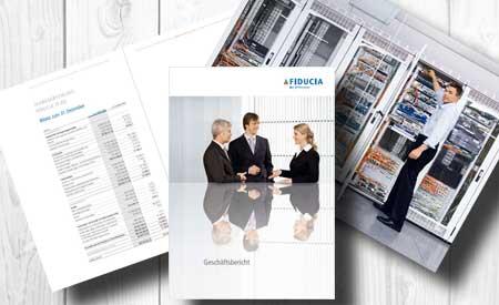 IT-Agentur produziert Geschäftsbericht für Fiduca