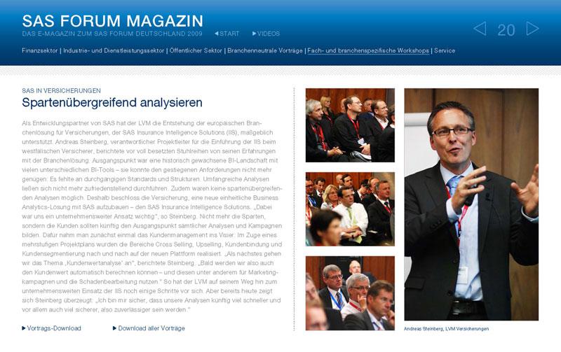 Technology-Agentur produziert Online-Magazin