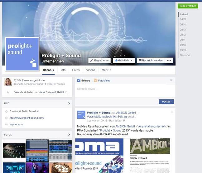 Technologie Kommunikation Facebook