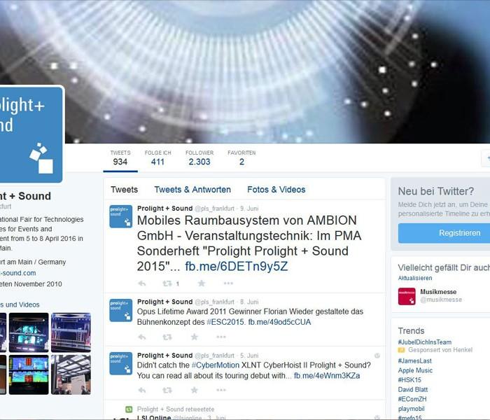 Technologie Kommunikation Twitter