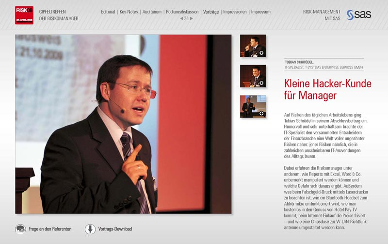 Online-Magazin zu IT-Kongress