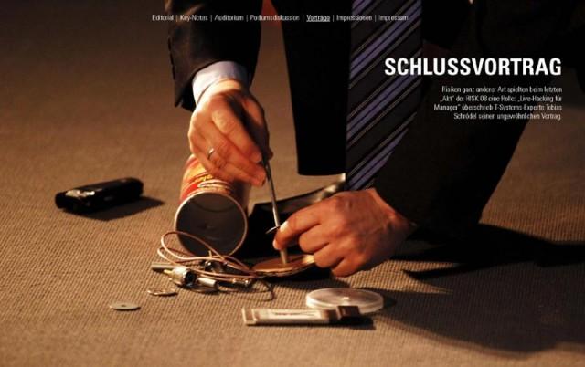 Technology-Agentur erstellt Online-Magazine mit hochwertige Fotoimpressionen